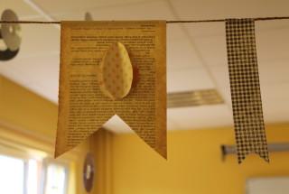 Zajęcia konstrukcyjne - dekoracje na Wielkanoc