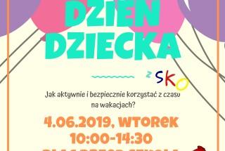 Festyn Edukacyjno-Sportowy z okazji Dnia Dziecka