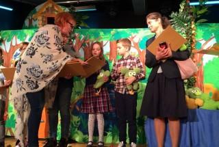 Magia teatru -lalka teatralna